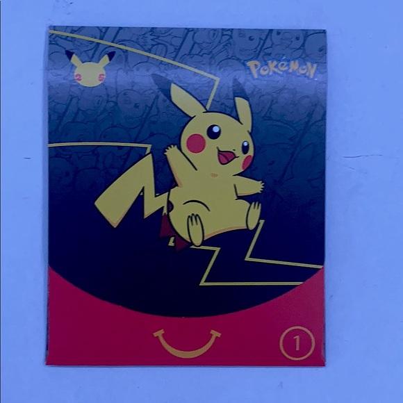 Mcdonalds 22 Pokémon Cards